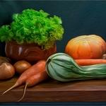 Composição com legumes