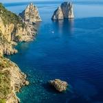 Capri - Vista a partir dos jardins de Augusto