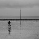 Pedalar á chuva