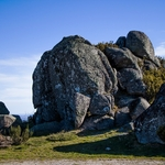 Pedras no cimo da serra