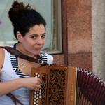 A acordeonista