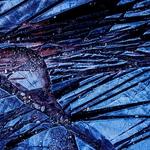 Vitral azul