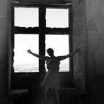 Na janela do castelo___