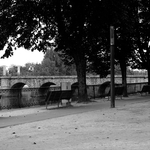 Com vista para a ponte