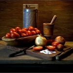Composição com tomates
