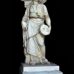 Estátua na casa de Pilatos em Sevilha
