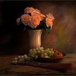 Ensaio com flores