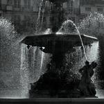 A fonte monumental do Rossio___