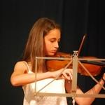 A violinista sem pauta