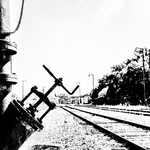 Velho caminho de ferro