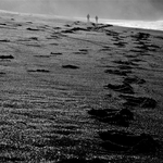 Sonhei q estava andando na praia c/ o Senhor.