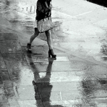 Walk in the rain...