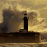 Storm in the ocean...