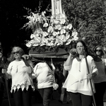 The procession...