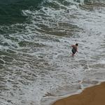 Aqui há ondas gigantes