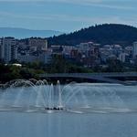 Vista geral de Coimbra