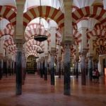 Na mesquita de Córdoba