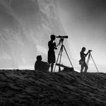 Os fotógrafos das ilhas de bruma .