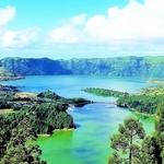 Lagoa das Sete Cidades, São Miguel, Açores .
