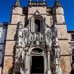Entrada do Mosteiro de Santa Cruz _ Coimbra