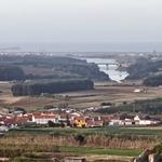 Ao longe a Barragem de S. Domingos