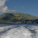 À Saída da Ilha do Corvo