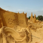 Ronaldo in the Sand City___