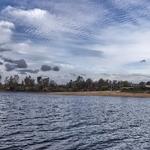 Mina S. Domingos, praia fluvial