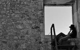 Axel à janela