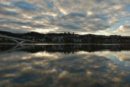 O pôr do sol em Coimbra