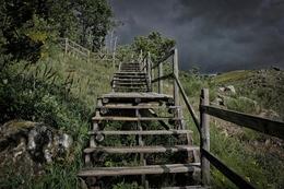 Escadas em Pitões das Júnias