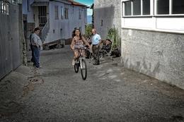 A menina da bicicleta