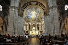Basílica do Sacré-Coeur - Paris - Interior
