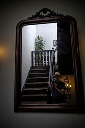 Autorretrato com escadas