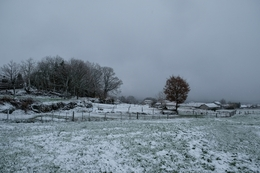 Neve na aldeia