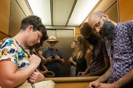 No elevador