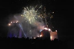 Castelo de Montalegre iluminado