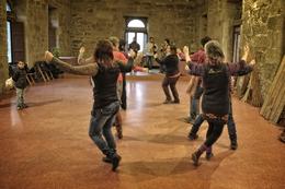Na dança