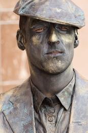 Estátuas vivas Coimbra - Assador de Castanhas