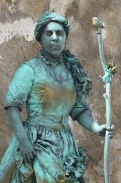 Estátuas vivas Coimbra - A Pastora