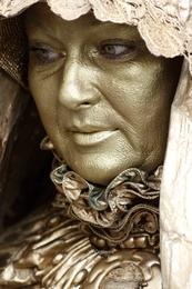 Estatua viva - Rainha Santa